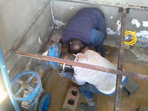 Redes de agua municipales codetrac s l expertos en piscinas for Piscinas municipales hospitalet