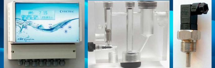 Control automático de cloro y PH