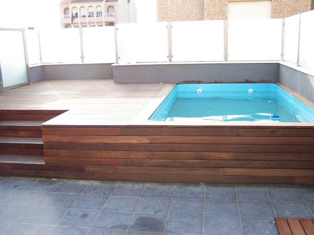 Piscina modelo c 35 codetrac s l expertos en piscinas - Minipiscinas para terrazas ...