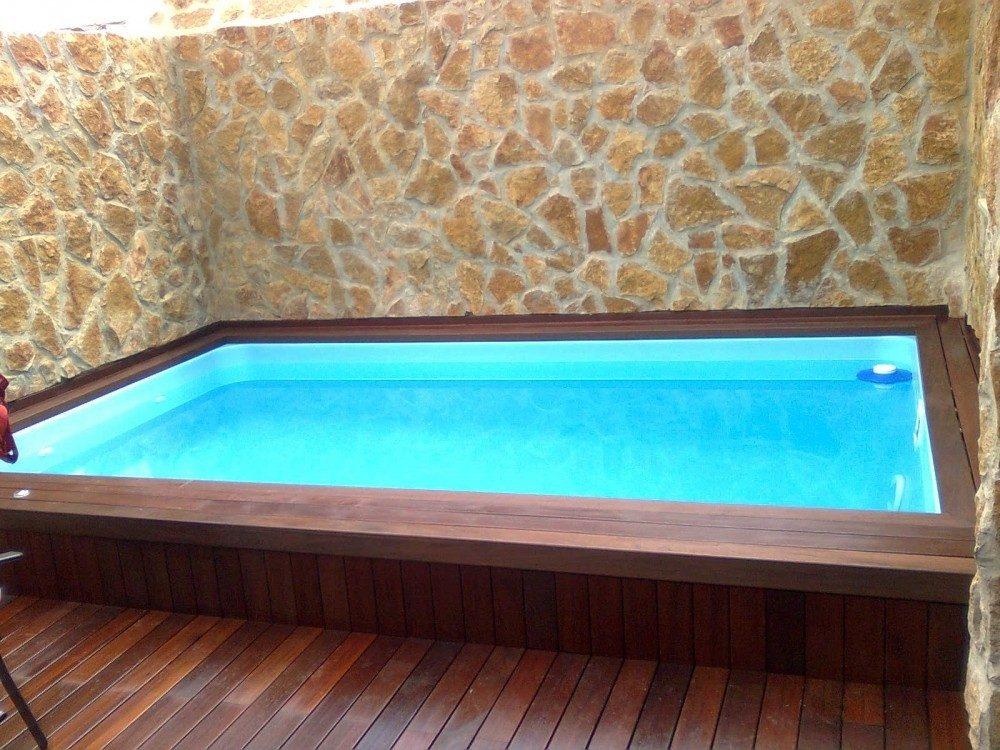 Piscina modelo c 40 codetrac s l expertos en piscinas - Piscinas para aticos ...