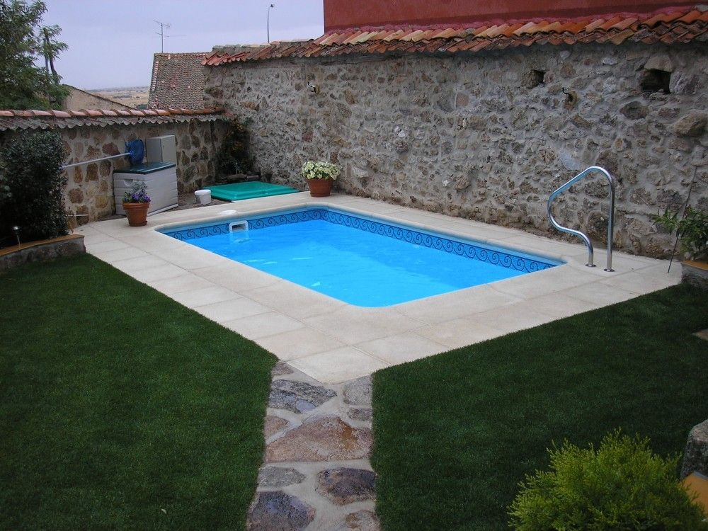 Piscina modelo c 45 codetrac s l expertos en piscinas for Albercas en espacios reducidos