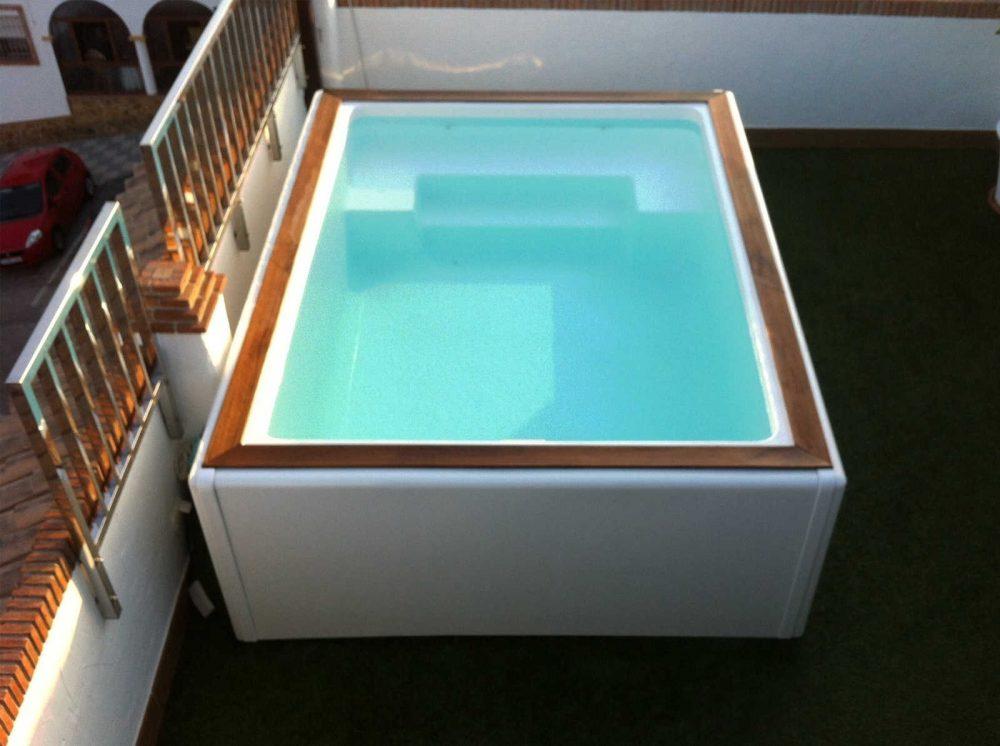 Modelo swim spa codetrac s l expertos en piscinas for Mini albercas