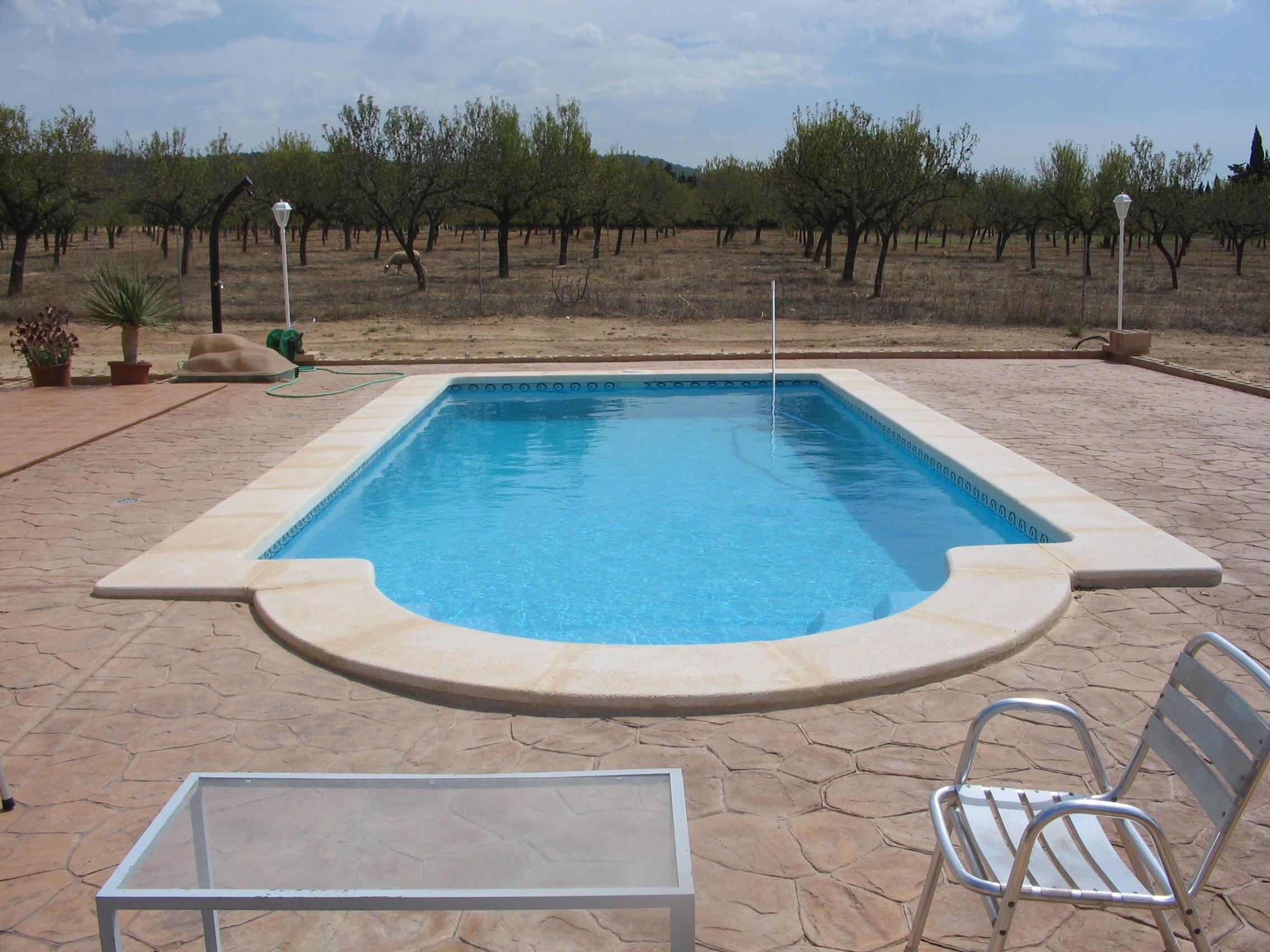 Piscina modelo c 9 codetrac s l expertos en piscinas - Piscinas de poliester precios ...