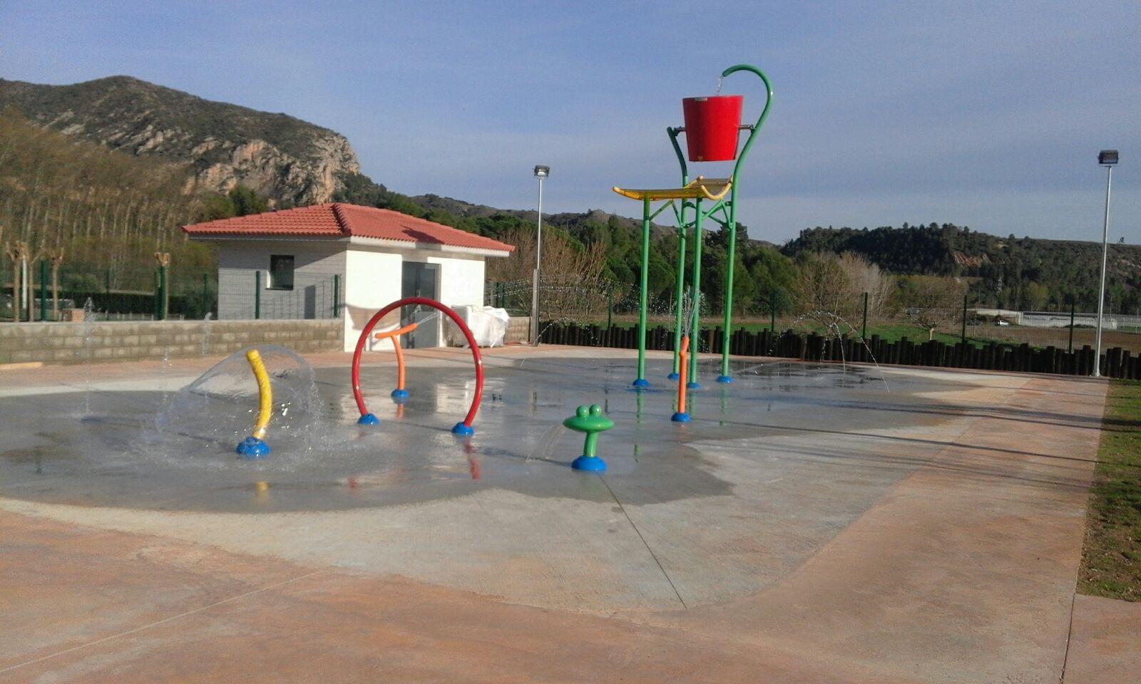 juegos acuáticos infantiles